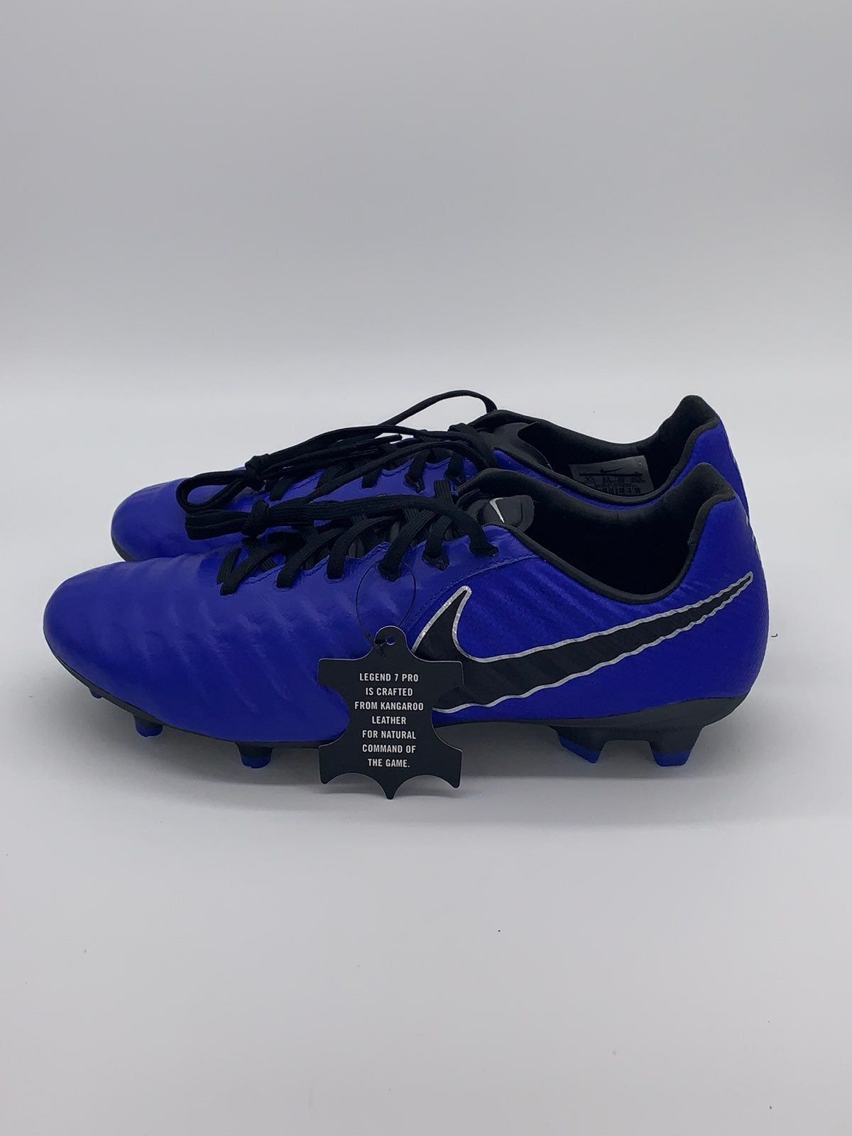 Nike Tiempo Legend Vii 7 Pro Fg Blue Mens Us Soccer Cleats Ah7241 400 New Without The Box Blue Nike Cleats Cleats Soccer Cleats
