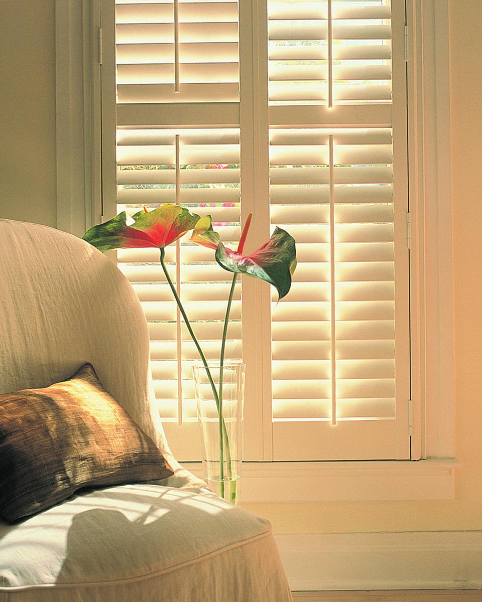Hunter douglas palmetto interior shutters window treatments