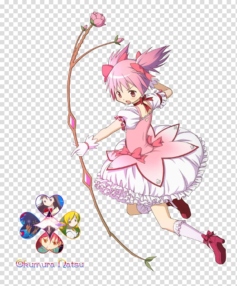 Madoka Kaname Anime Magical Girl Puella Magi Madoka Magica The Movie High Heeled Shoe Anime Transparent Backgrou Magical Girl Anime Puella Magi Madoka Magica