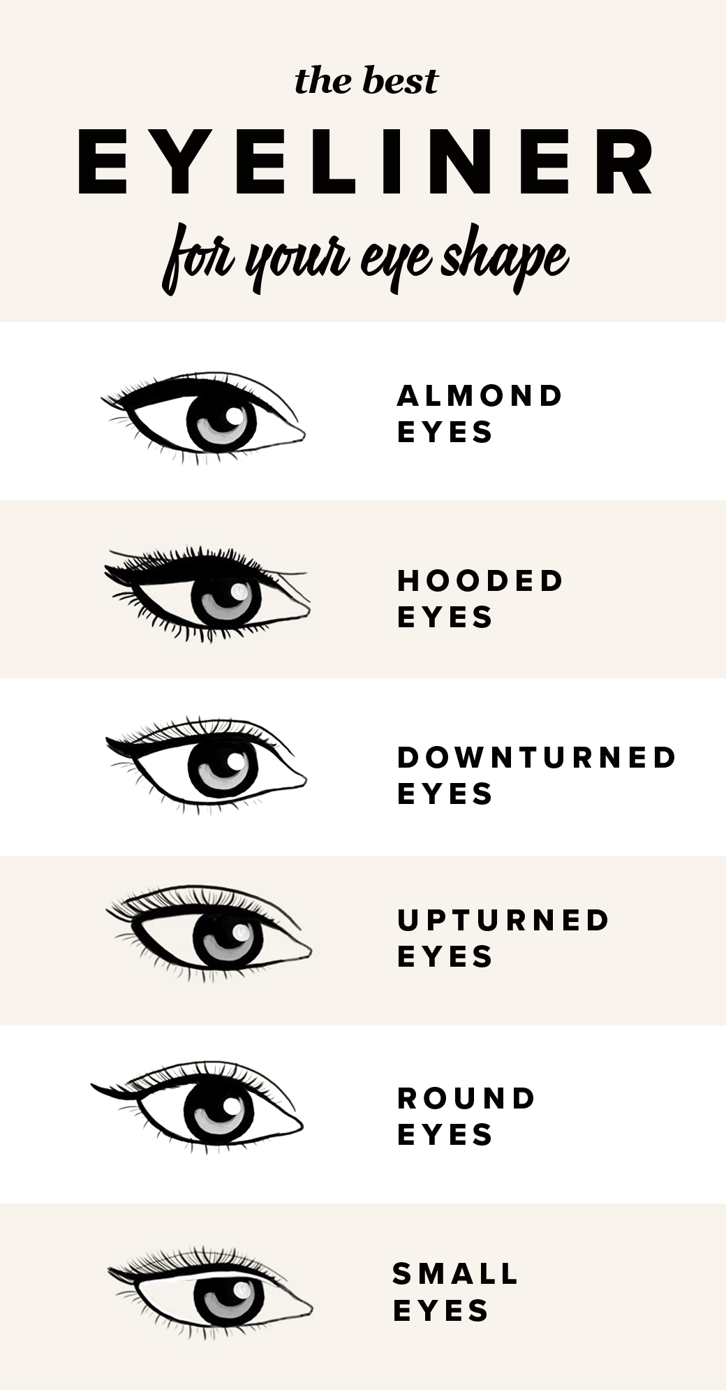 The Best Eyeliner Hacks For Every Eye Shape | by