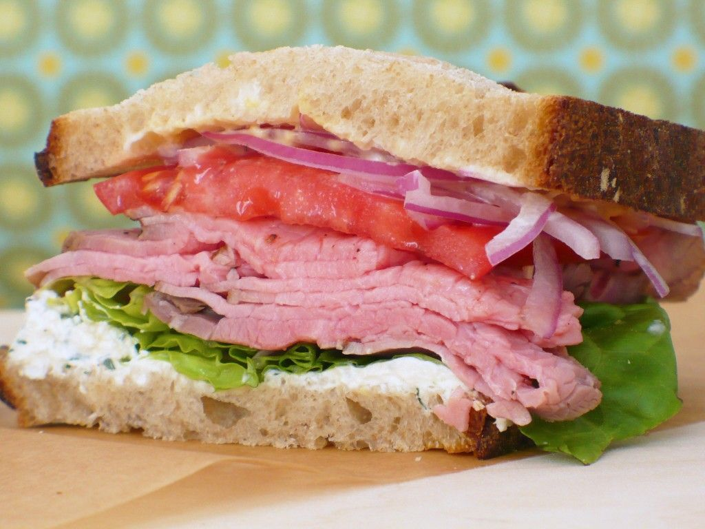 Creamy Horseradish Spread With Dill Is A Perfect Condiment For A Roast Beef Sandwich