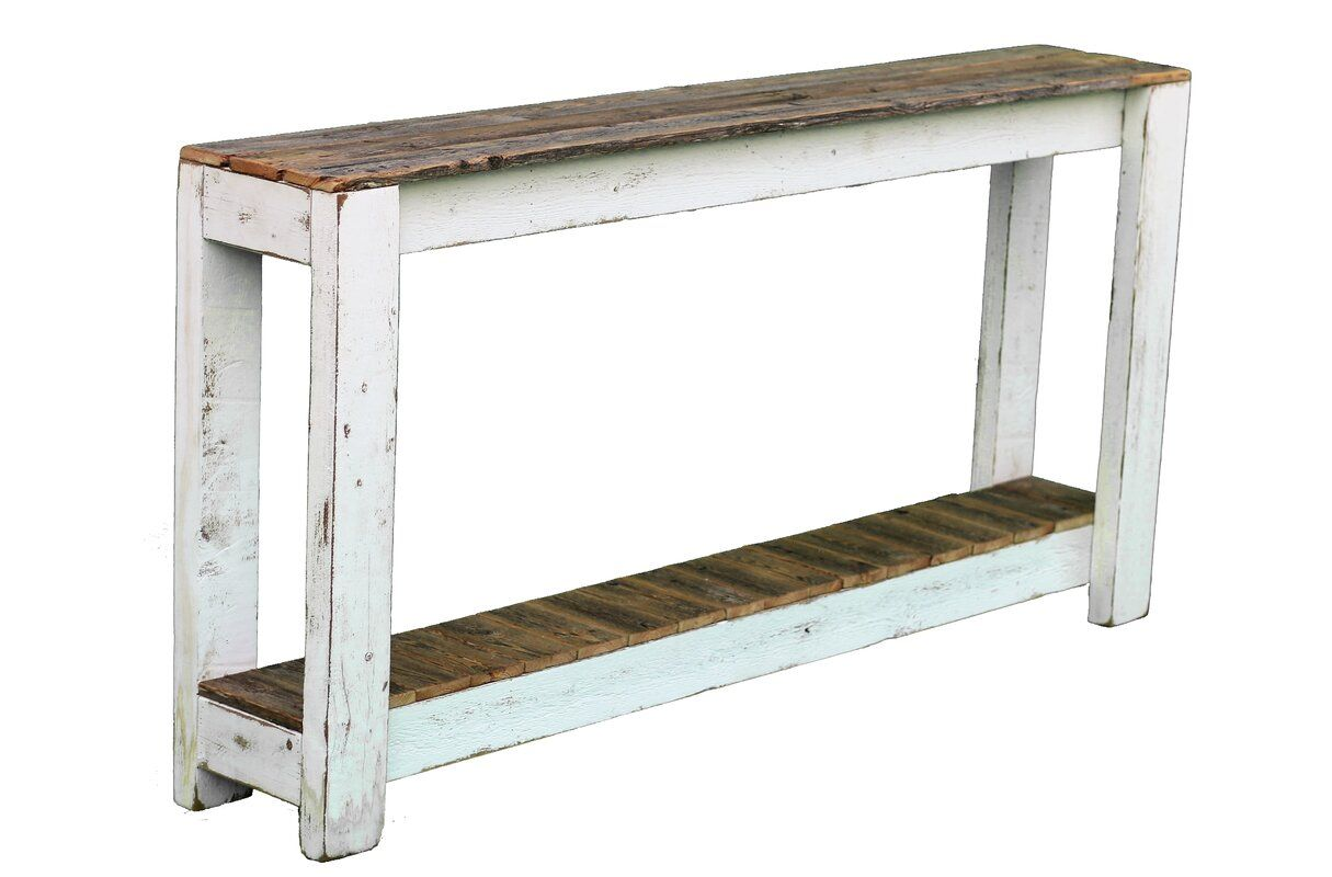 Nessa Solid Wood Console Table Wood Console Table Console Table