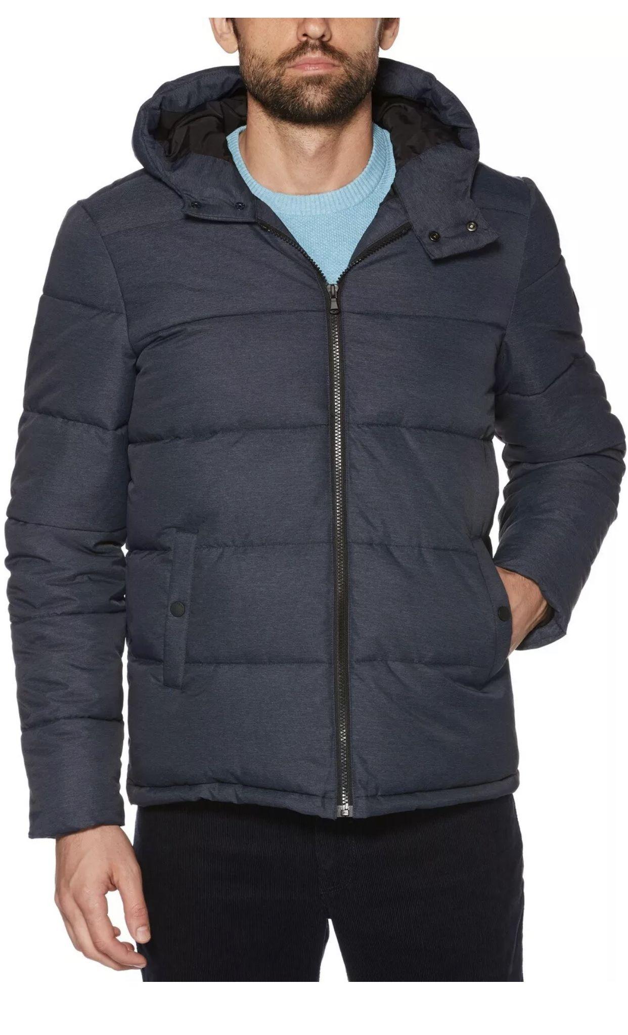 New Original Penguin 2xl Insulated Melange Puffer Jacket Mens Coat Msrp 150 Nwt Winter Jackets Puffer Jackets Winter Puffer Jackets [ 2046 x 1242 Pixel ]