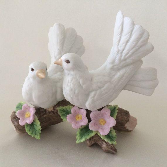 Homco love birds figurines Homco song birds figurines Homco   Etsy    Figurines, Homco, Love birds