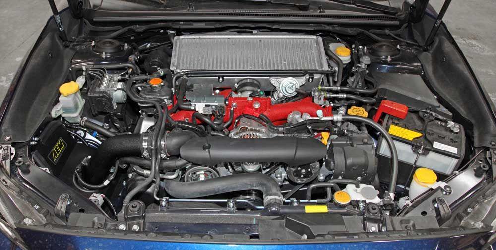 2015 2016 Subaru Wrx Sti 2 5l Turbo With Aem Cold Air Intake Get Power Boost Style Points Subaru Wrx 2015 Subaru Wrx Subaru Wrx Sti