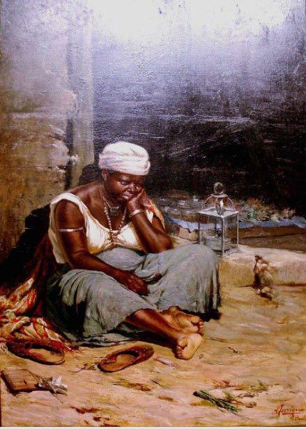 Mulata Quitandeira, 1893-1905 Antônio Ferrigno ( Itália, 1863-1940) óleo sobre tela, 179 x 135 cm Pinacoteca do Estado de São Paul...