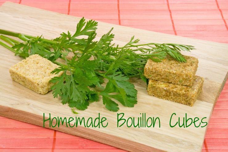 Easy homemade bouillon cubes recipe healthy home