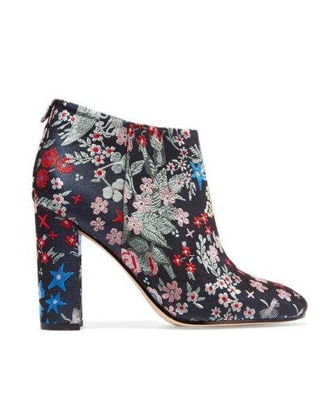 9bfbfc441c06fd These Sam Edelman booties are the chicest addition to any wardrobe. Sam  Edelman Cambell Embroidered