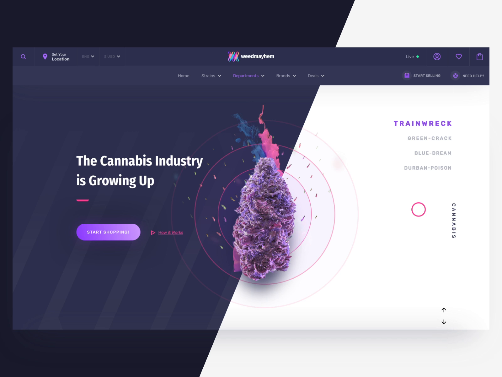 Hero Interaction By Brightscout Portfolio Web Design Web Design Websites Website Design Inspiration