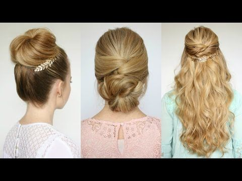 Different Hairstyles 15 Easy Diy Prom Hairstyles For Medium Hair  Easy Prom Hairstyles