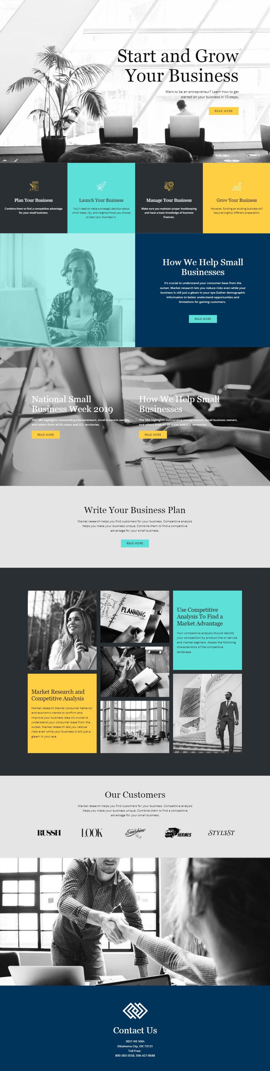 Free Template By Nicepage Builder Business Web Design Diy Website Design Web Design