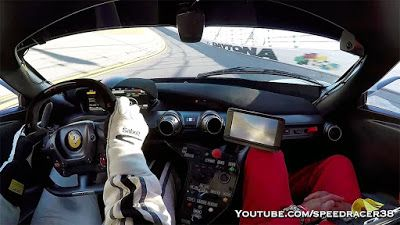 Listen To The Fantastic Ferrari FXX-K Flying Around Daytona Speedway #ferrarifxx