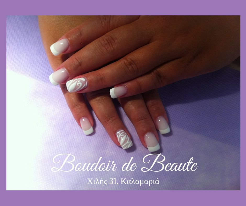 French manicure! #nailart #nails #nailswag #nailsalon #kalamaria #skg #thessaloniki #beautysalon #beauty #naildesign #nailpolish #boudoirdebeaute #boudoir_de_beaute #manicure #nails_greece #nailsoftheday #nailporn #nailaddict #french_manicure