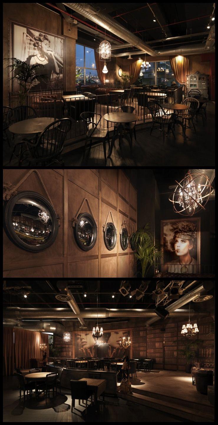 Sagamor 39 s rustic dated restaurant interior design bergamo italy restaurant architecture - Interior design bergamo ...