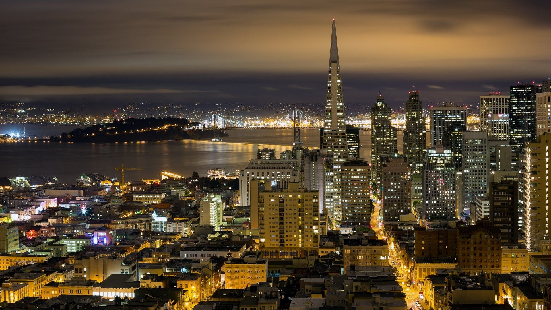 1920x1080 Free High Resolution Wallpaper San Francisco San Francisco At Night San Francisco Wallpaper San Francisco Streets