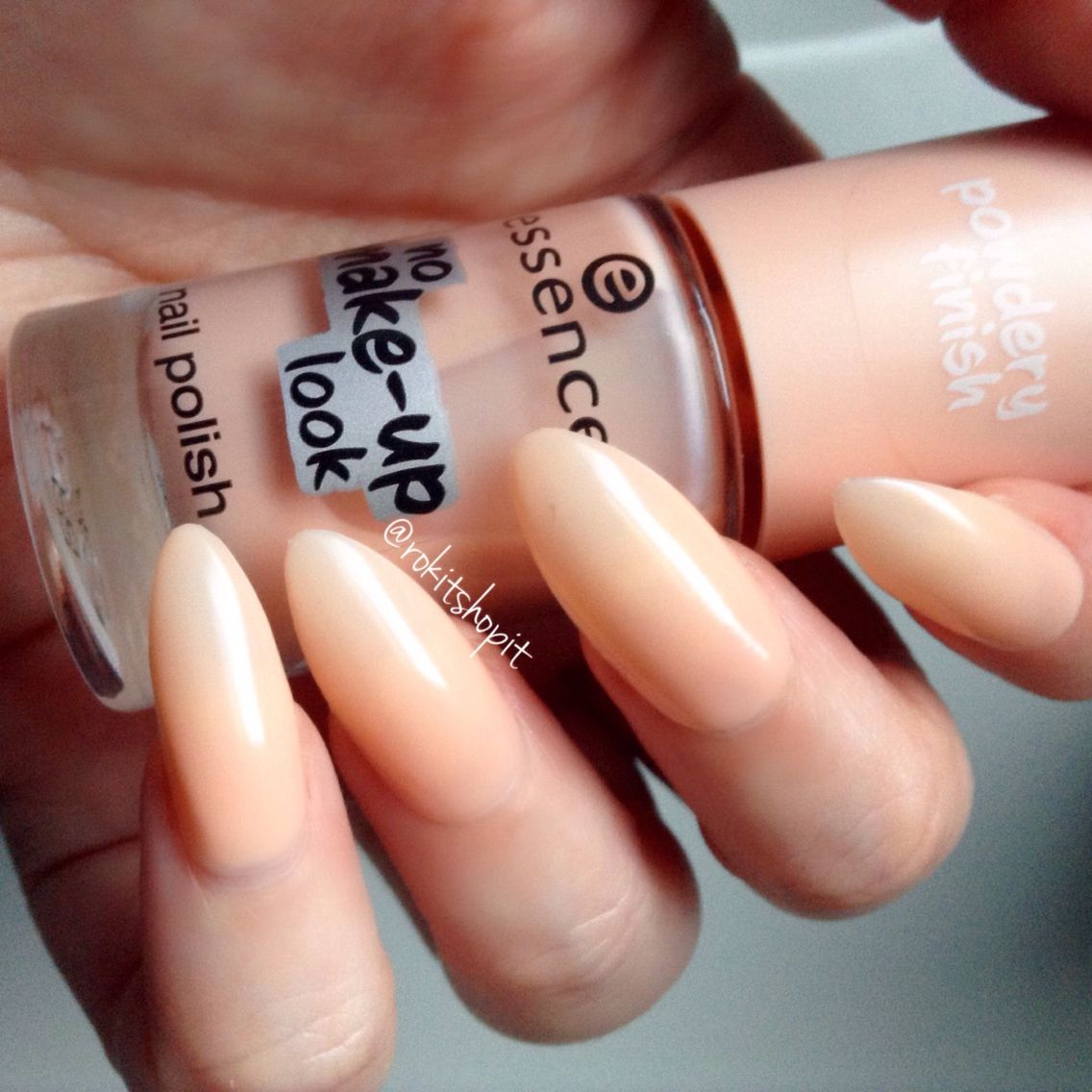 Essence Cosmetics no makeup look nude nails #nails #nailpolish ...