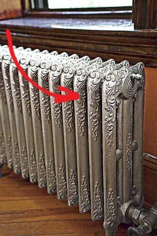 Cleaning Tips For Tricky Spots Painted Radiator Old Radiators Radiators