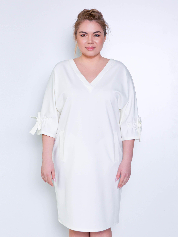 c9bbf6f1c654 Жизель платье молочный | Фасоны | Платья, Молочный и Трикотажное платье