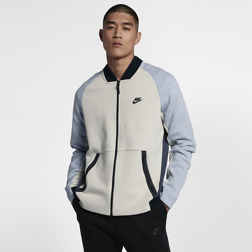 Nike Sportswear Tech Fleece Herren College Jacke