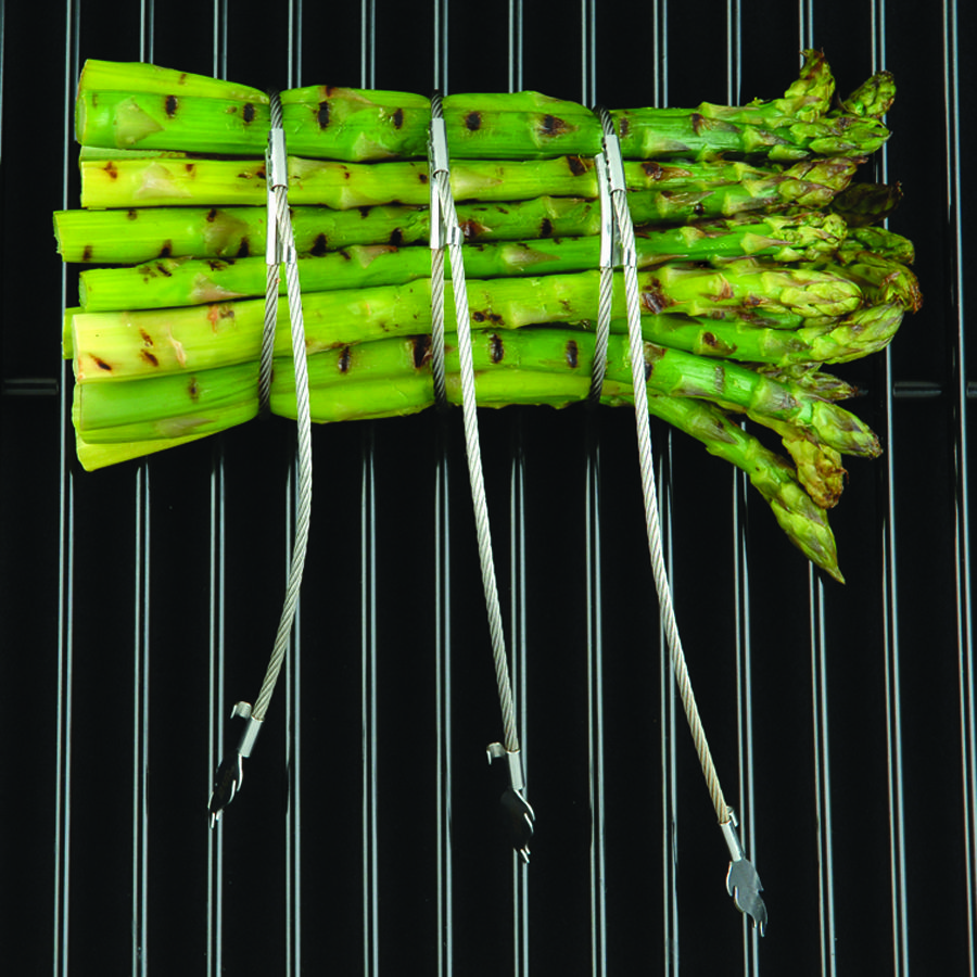 FusionBrands Braadsnoertjes Foodloop Flame - Rvs - Voor oven of Bbq - Set van 2 stuks #BBQ #Oven