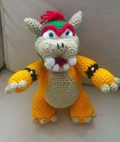 Amigurumi Mario Bros Espanol : Amigurumi Cupa-Koopa personaje de Mario Bross - Patron ...