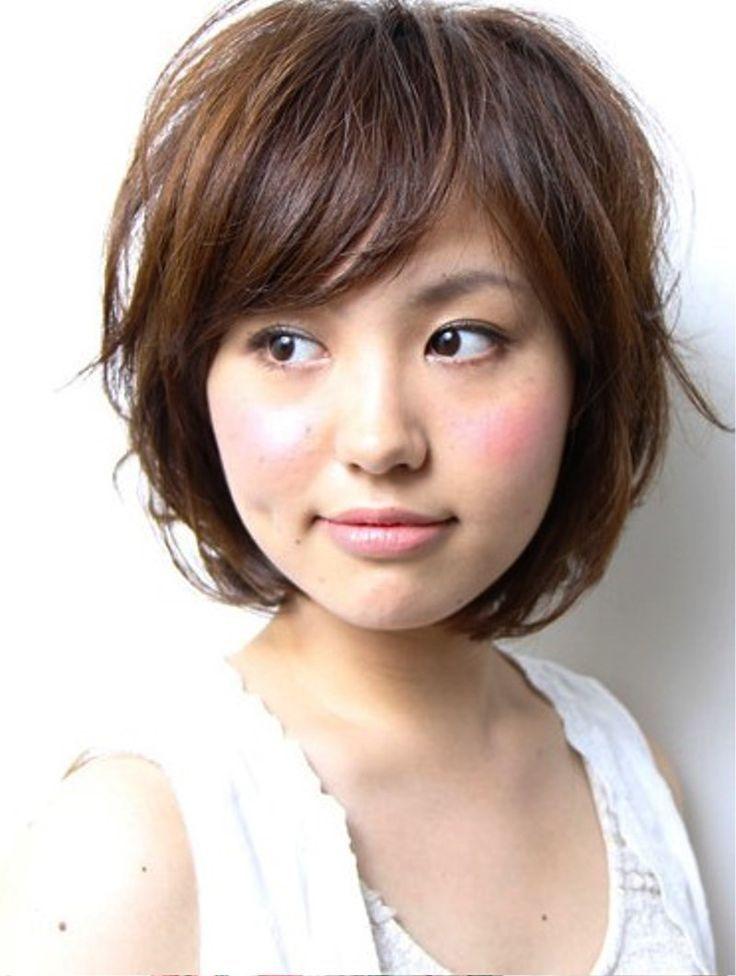 Japanese Bob Haircuts With Bangs Trends Hair Pinterest