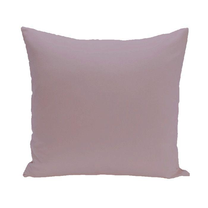 E By Design Solid Throw Pillow Reviews Wayfair For The Home Inspiration Fairon Decorative Throw Pillow