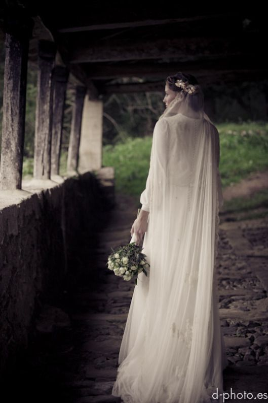 le touquet coronas novia la champanera novia romantica sole alonso asturias otoño boda 8