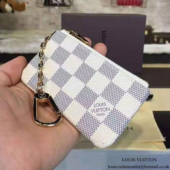 c42390f5ed9d Louis Vuitton N62659 Key Pouch Damier Azur Canvas  Louisvuittonhandbags