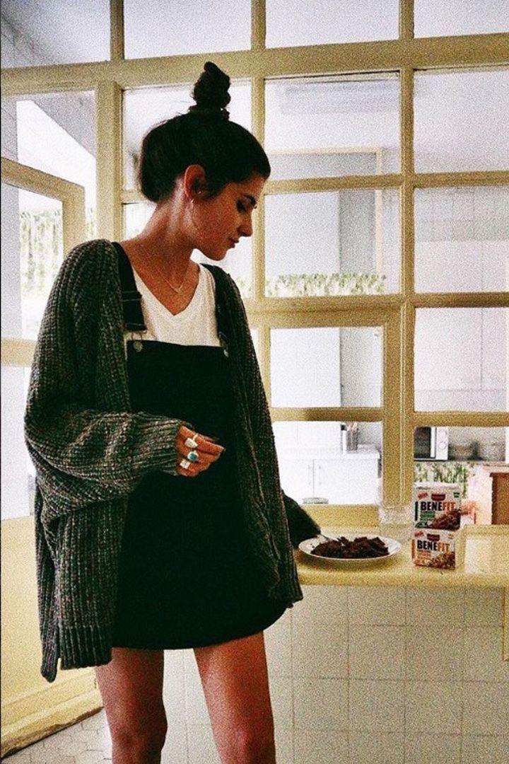 Gesamtkleid und eine dicke Strickjacke. Besuchen Sie Daily Dress Me auf dailydressme.co …   – Blouses