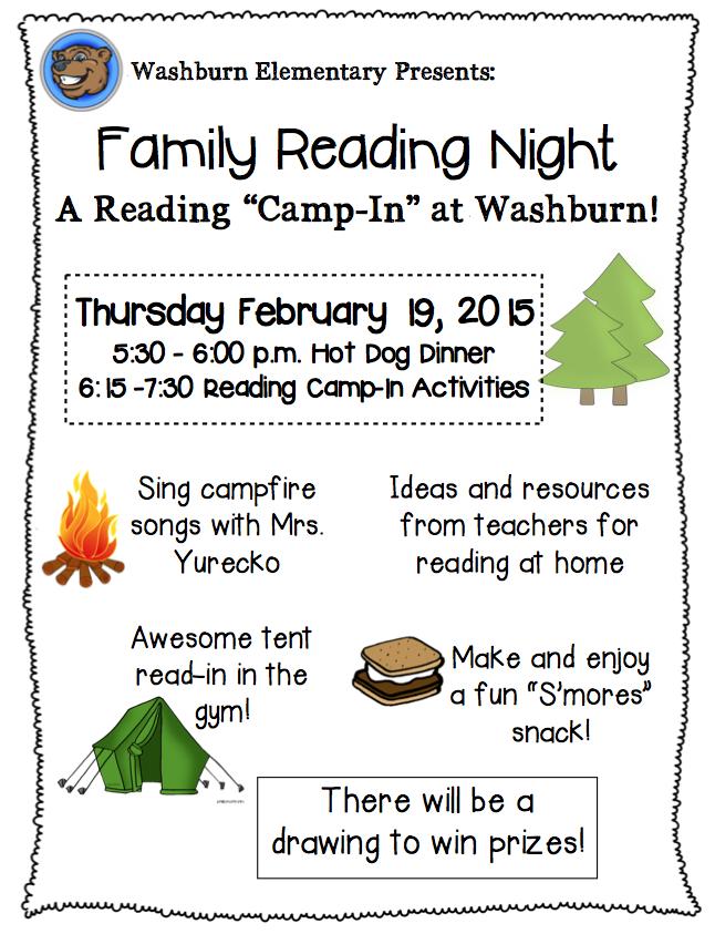 Literacy Night Brochure