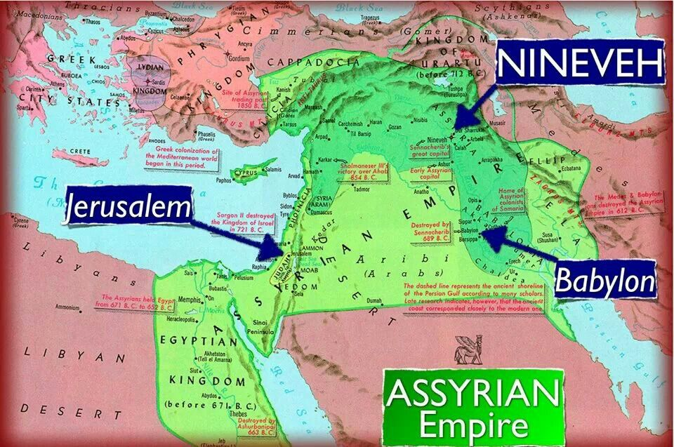 Jerusalem in the context of the Middle East cities of Nineveh and ...