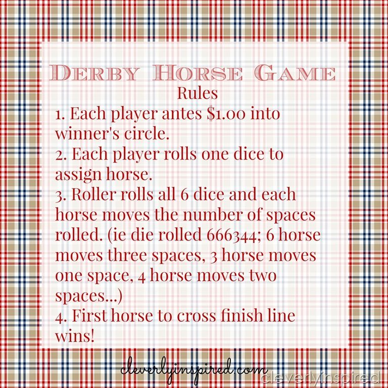 photograph about Kentucky Derby Games Printable referred to as derby horse match printables @cleverlyinspired (3) Do it yourself