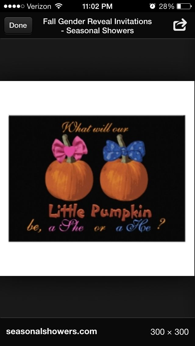 Pin By Jessica Calvarese On Baby Ideas Halloween Gender Reveal Halloween Baby Shower Invites Baby Gender Reveal