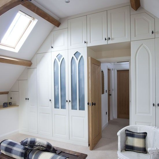 Built In Cupboard Storage   What A Gorgeous Wall Of Practicality! I Love  The Frosted Glass Panels In The Wardrobe Doors