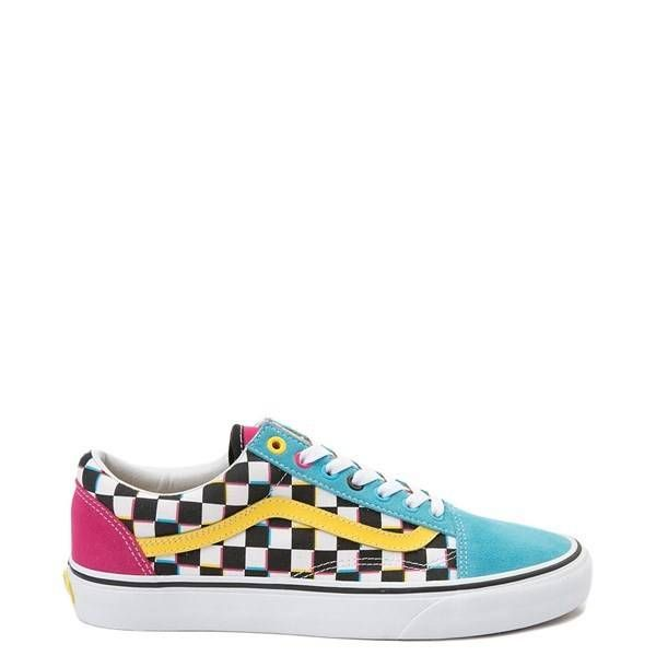 520993 - Vans Old Skool Chex Skate Shoe