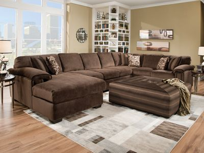 Nebraska Furniture Mart U2013 Henderson Oversized Sectional (Ottoman Not  Included)