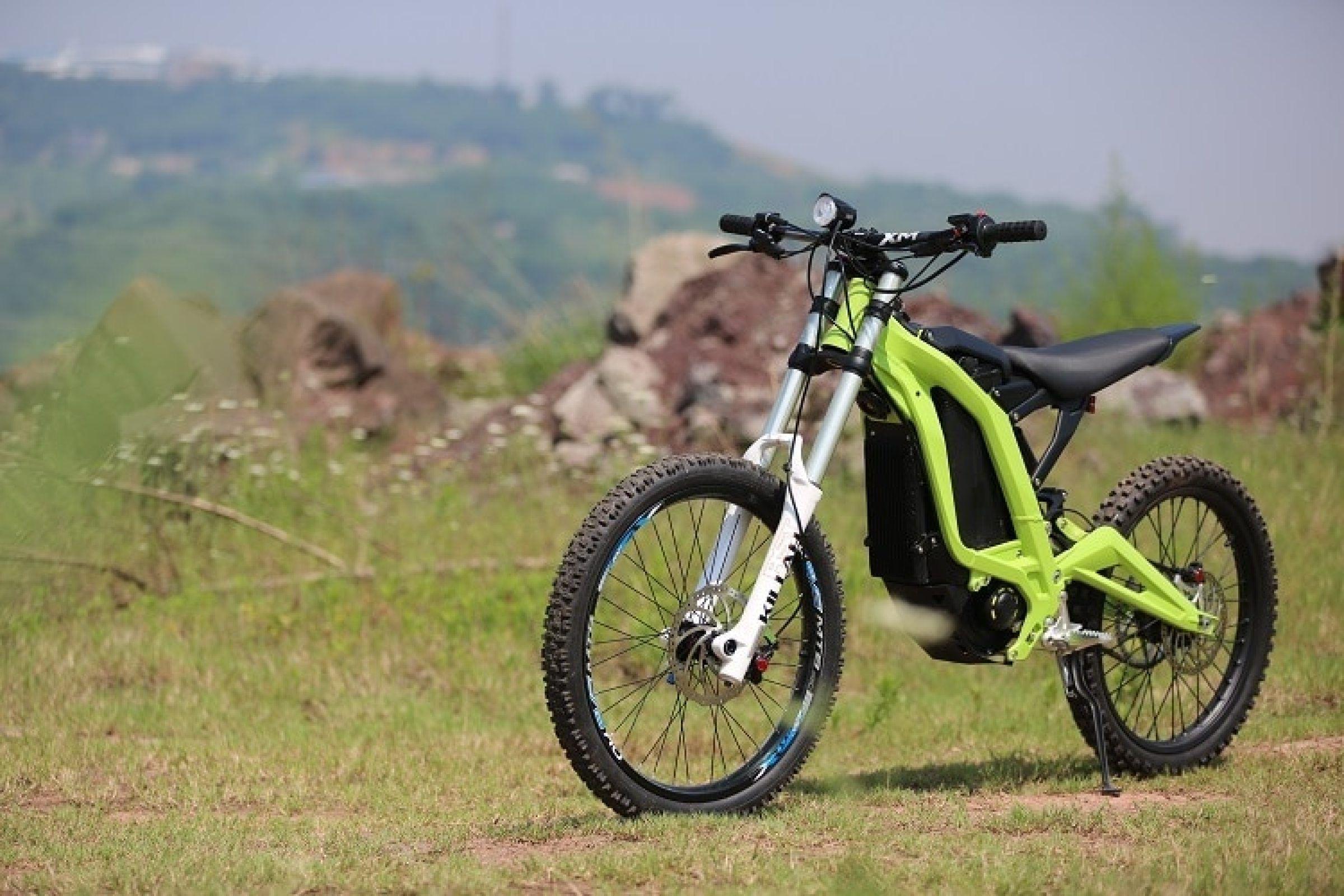 Electric Bike Review Sur Ron Rockstar Ebike W 40 Mile Range