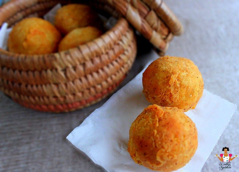 Yam balls how to make stuffed yam balls dobbys signature nigerian food blog nigerian food recipes african food blog yam forumfinder Images
