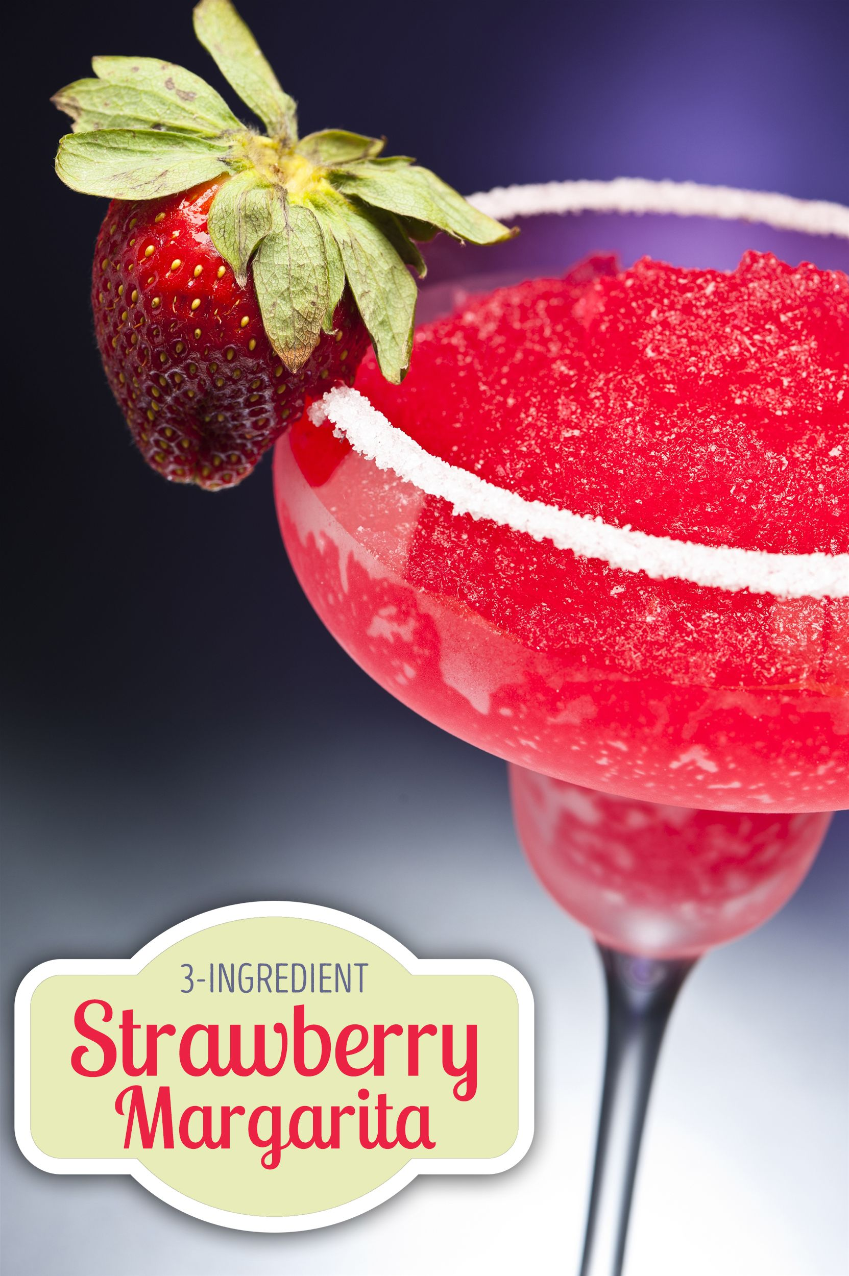 This Juicy Strawberry Margarita May Be The Ultimate Summer Refresher Recipe Strawberry Margarita Homemade Drinks Fruity Drinks