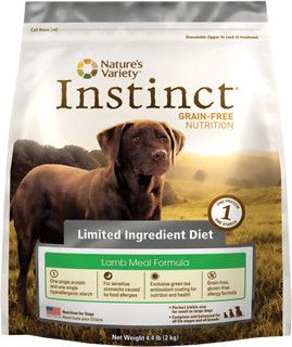 Nature S Variety Instinct Limited Ingredient Diet Lamb Meal
