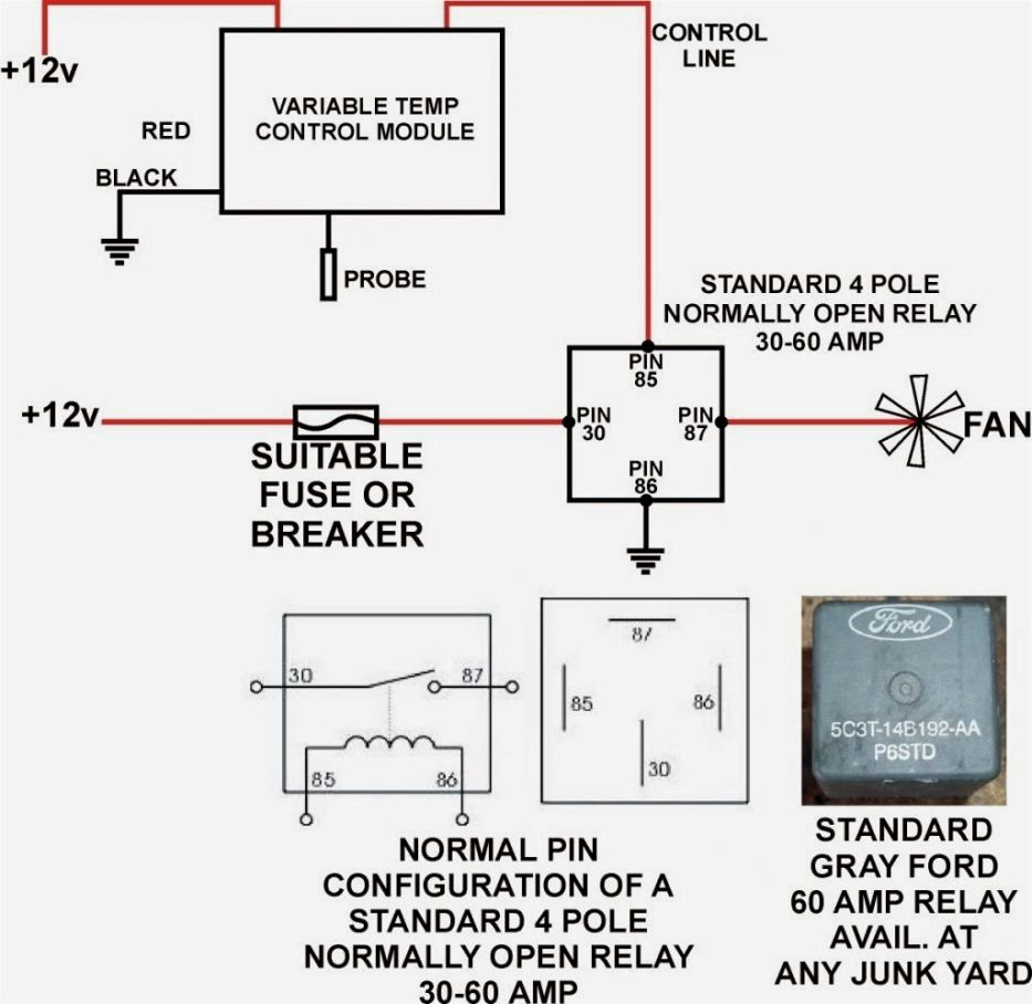 Relay 5 Pin Wiring Diagram - blurts.me | 12 V on