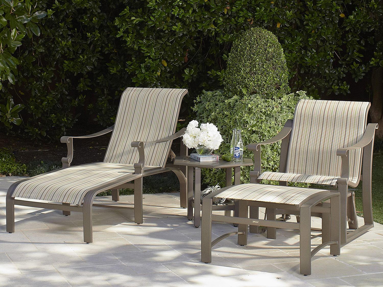 Woodard: Woodard Patio Furniture  Bungalow Sling Collection