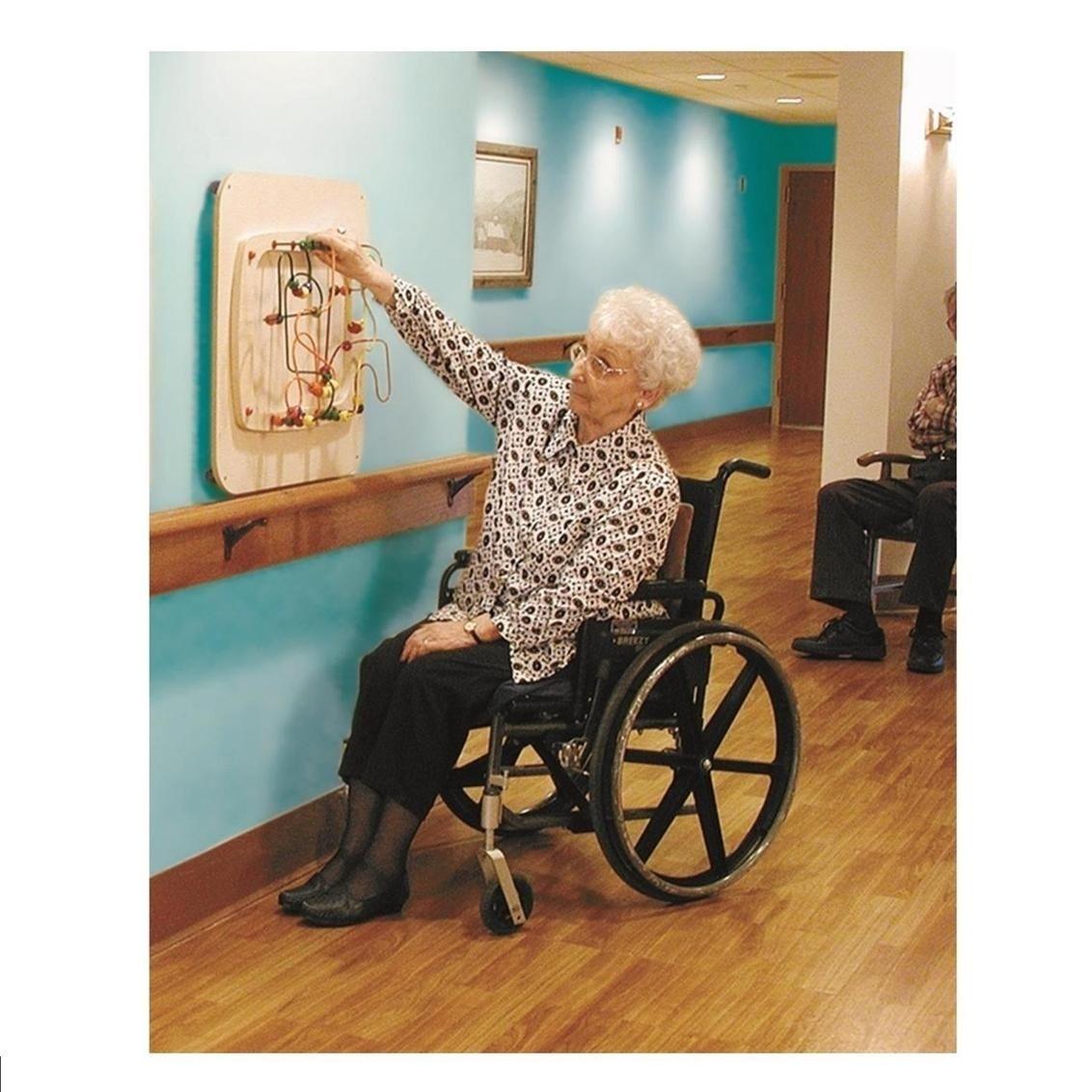 Sensory Wall Ideas For Dementia Elderly Activities Nursing Home Activities Memory Care Activities