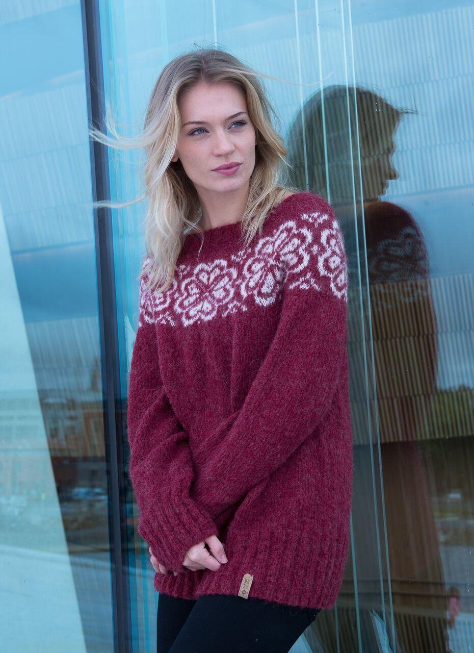 Retro genser A Knit Story