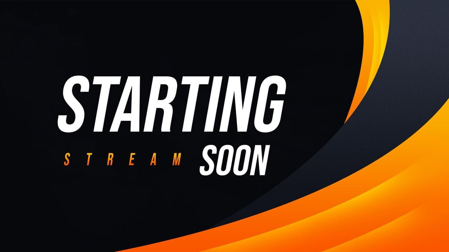 Free To Use Stream Starting Soon Scene Hq Download Link In Bio Youtube Banner Design Youtube Banner Template Banner Background Images