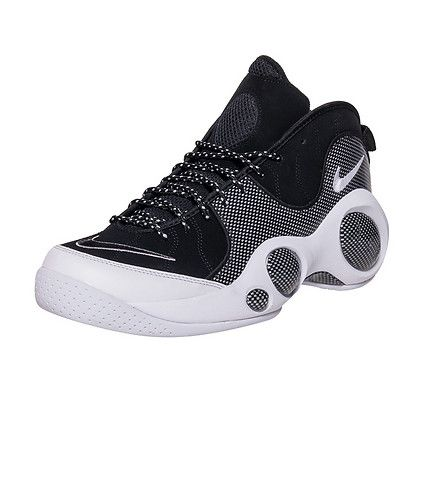 new arrival dfa20 4b534 NIKE Zoom Flight 95 SE Mid top men s sneaker Lace up closure Patterned  accents on laces