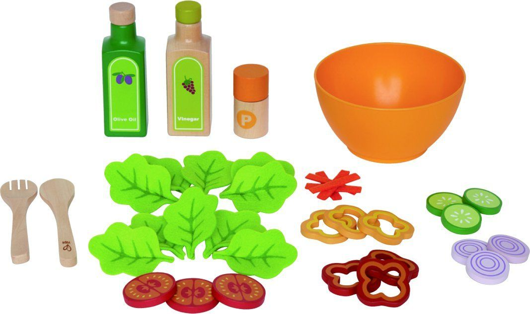 Hape E3116 - Gartensalat-Set 36-teilig: Amazon.de: Spielzeug | Mini ...