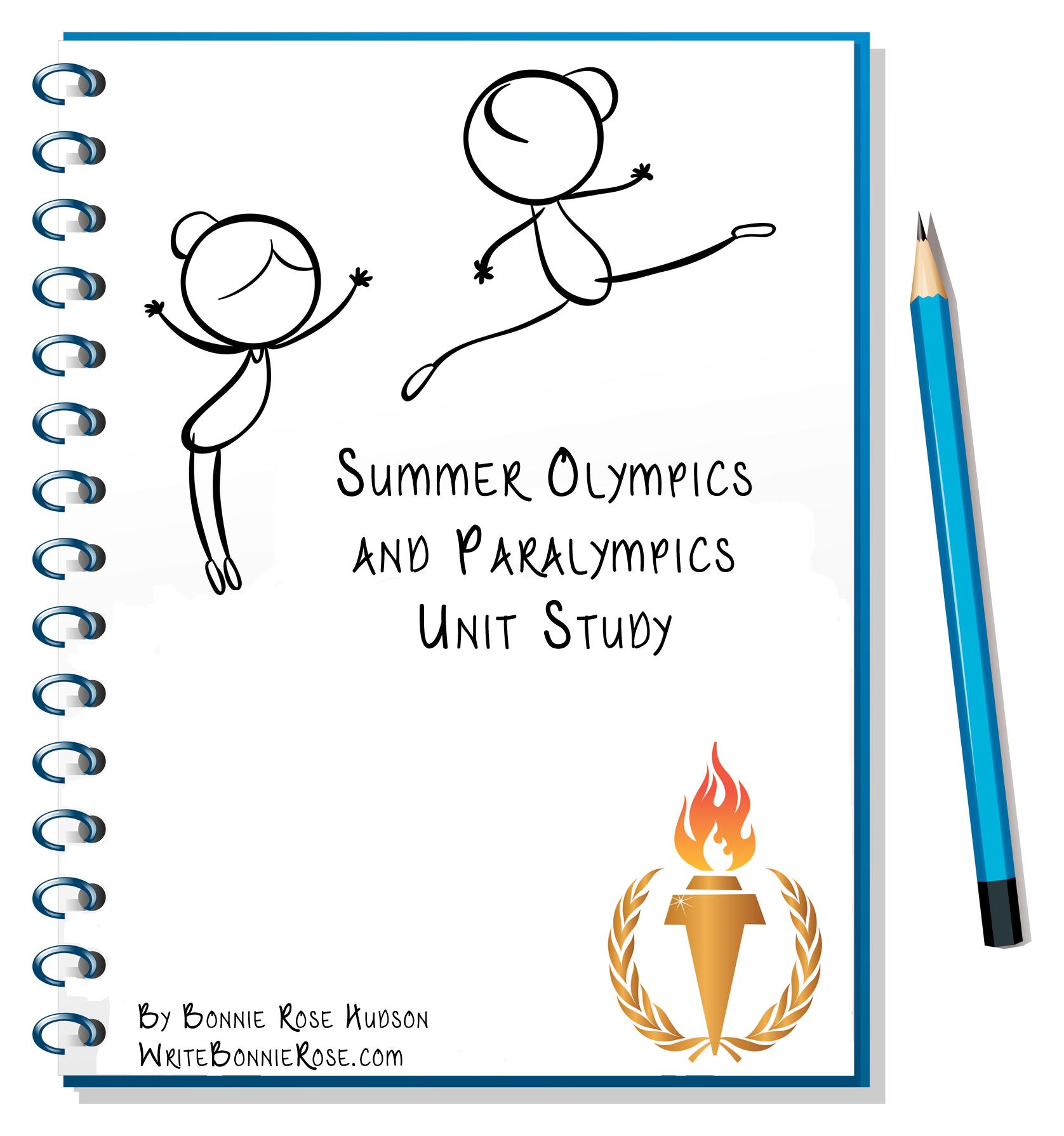 Summer Olympics And Paralympics Unit Study Writebonnierose Com Study Unit Paralympics Spelling Activities [ 1789 x 1676 Pixel ]