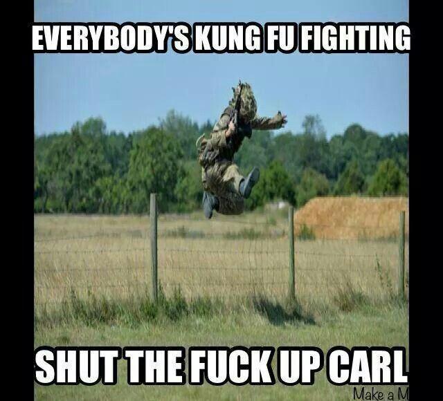 09ee9d7536d25aa3ced8cb9f26d06073 shut the f* up carl humor that i love pinterest military